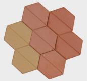 formen f r pflaster sechseck schalungsformen. Black Bedroom Furniture Sets. Home Design Ideas