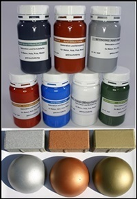 Concrete colors: acrylic silicone