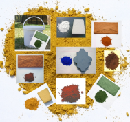 Color pigments powder
